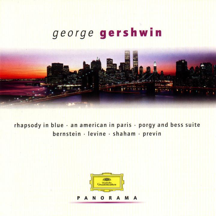 Gershwin - Set: Bernstein/Ozawa/Previn/Levine 0028946913927