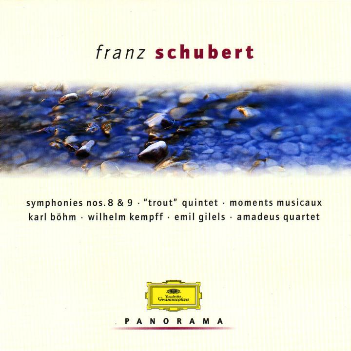 """Sinfonien Nr. 8 & 9; """"Forellen""""-Quintett; Moments Musicaux 0028946919624"""