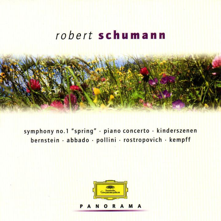 """Sinfonie Nr. 1 """"Der Frühling""""; Klavierkonzert; Kinderszenen 0028946919923"""
