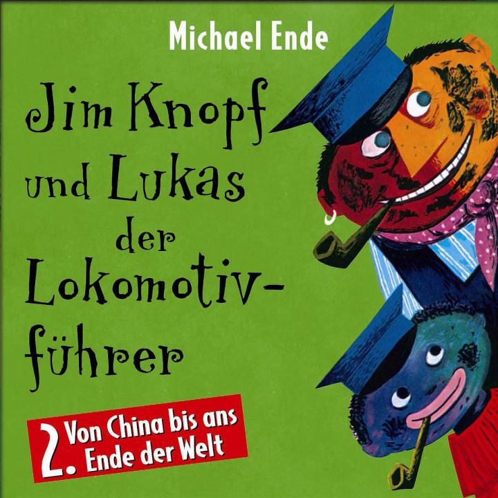 02: Jim Knopf und Lukas der Lokomotivführer (Hörspiel) 0731455492323