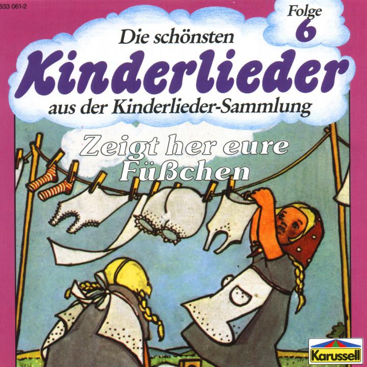 Die Schönsten Kinderlieder - Zeigt Her Eure Füsschen 0042283306121