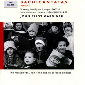 Bach, J.S.: Advent Cantatas BWV 61, 36 & 62, 00028946358825
