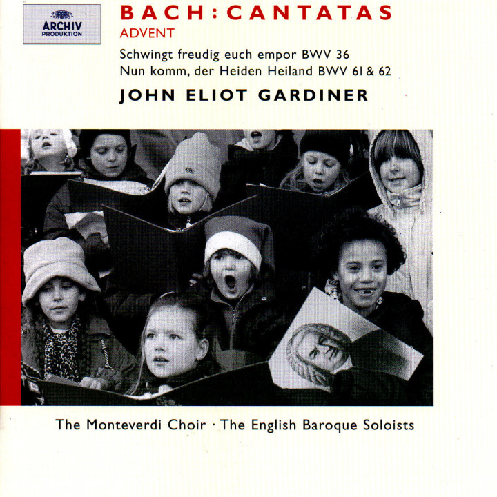 Bach, J.S.: Advent Cantatas BWV 61, 36 & 62 0028946358825