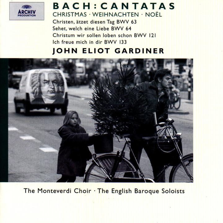 Bach, J.S.: Christmas Cantatas BWV 63, 64, 121 & 133 0028946358928