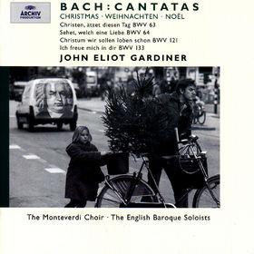 Bach, J.S.: Christmas Cantatas BWV 63, 64, 121 & 133, 00028946358924