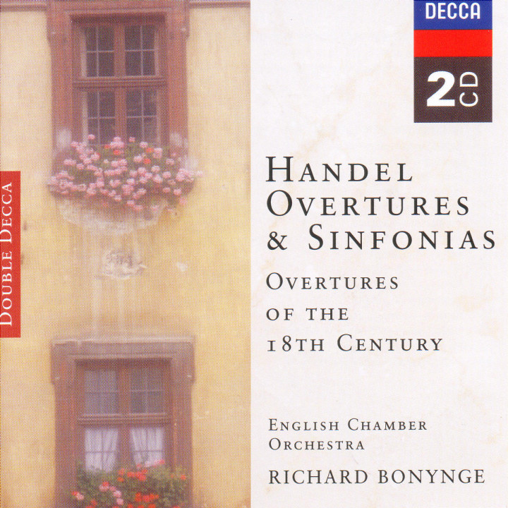 Handel, etc.: Overtures of the 18th Century 0028946643428