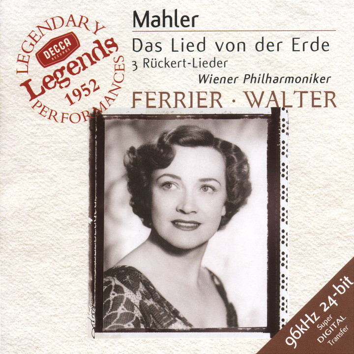 Mahler: Das Lied von der Erde; 3 Rückert Lieder 0028946657621