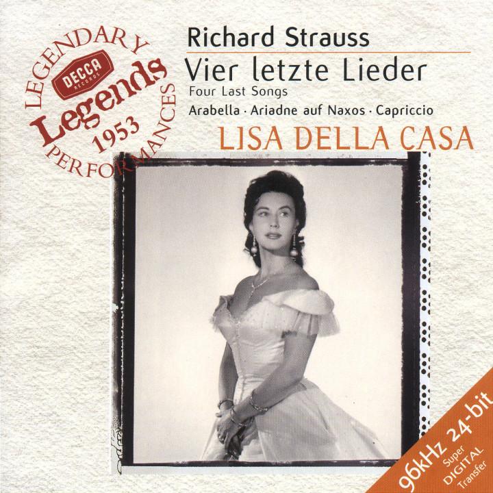 Strauss, R.: Vier letzte Lieder 0028946711820