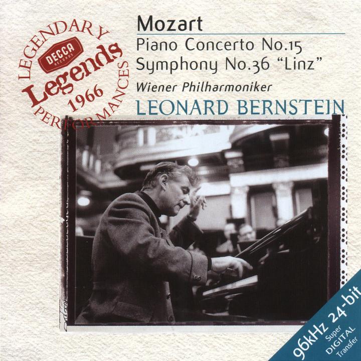 """Klavierkonzert Nr. 15; Sinfonie Nr. 36 """"Linzer"""" 0028946712326"""