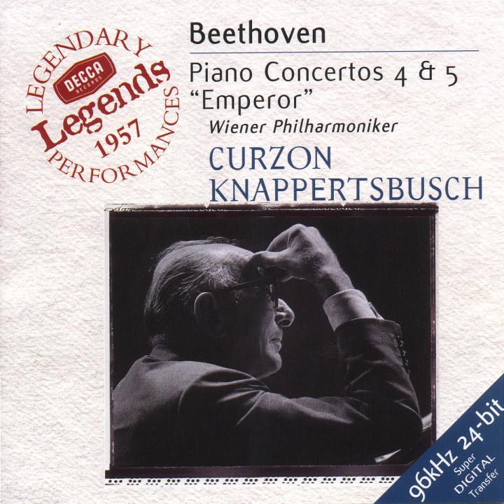 Beethoven: Piano Concertos Nos.4 & 5 0028946712625