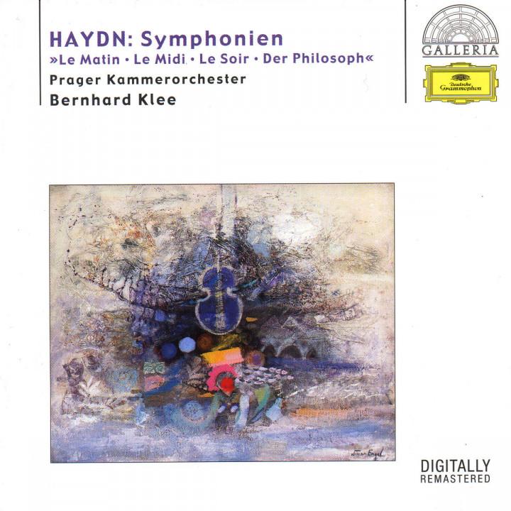 "Die Sinfonien ""Le Matin""; ""Le Midi""; ""Le Soir""; ""Der Philosoph"" 0028946955127"