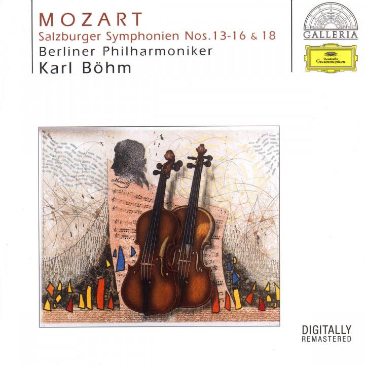 Die Salzburger Sinfonien Nr. 13-16 & 18 0028946955220