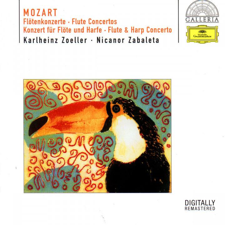Mozart: Flute Concertos Nos.1 & 2; Flute & Harp Concerto K.299 0028946955323