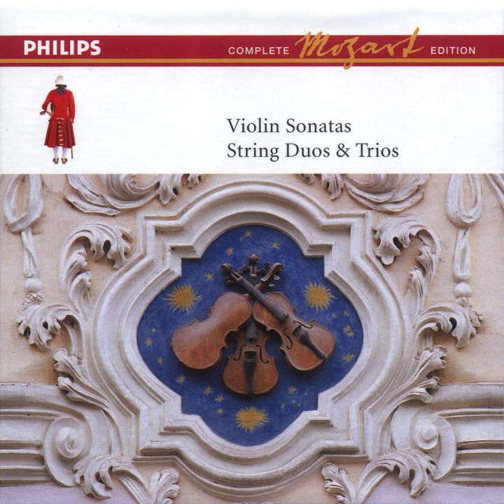Sonaten für Violine und Klavier; Duos und Trios für Streicher (Vol. 8) 0028946484027