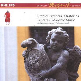 Litaneien, Vespern, Oratorien, Kantaten, Freimaurermusik (Vol. 11), 00028946487020