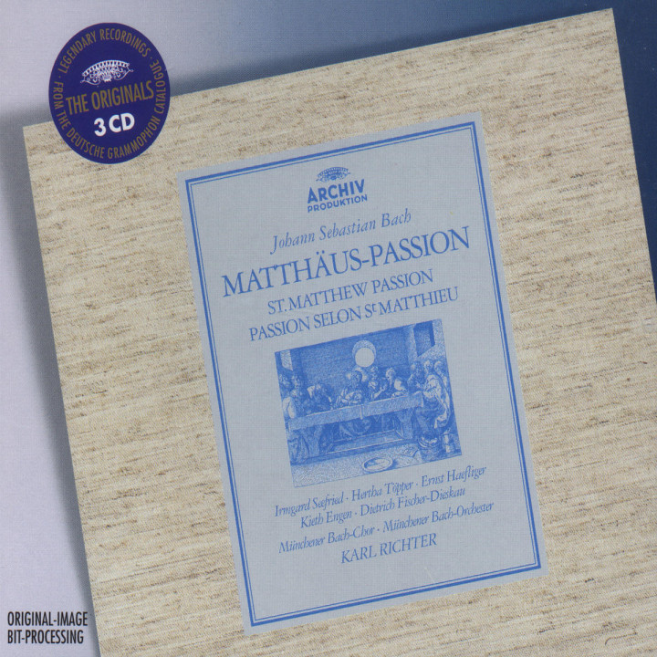 Bach: Matthäus-Passion 0028946363524