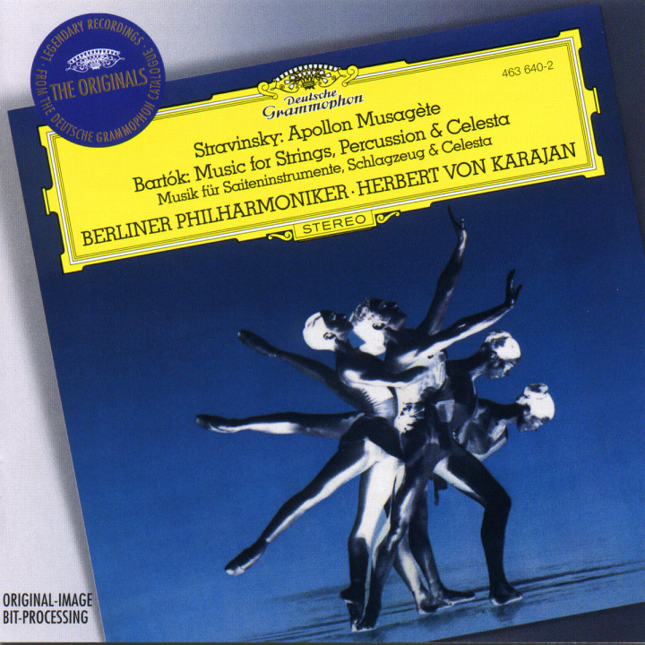 Igor Stravinsky: Apollon Musagète / Bartók: Music for Strings, Percussion and Celesta 0028946364020