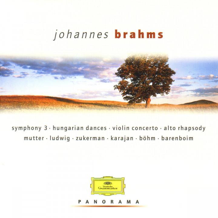 Sinfonie Nr. 3; Ungarische Tänze; Violinkonzert; Alt-Rhapsodie 0028946912421