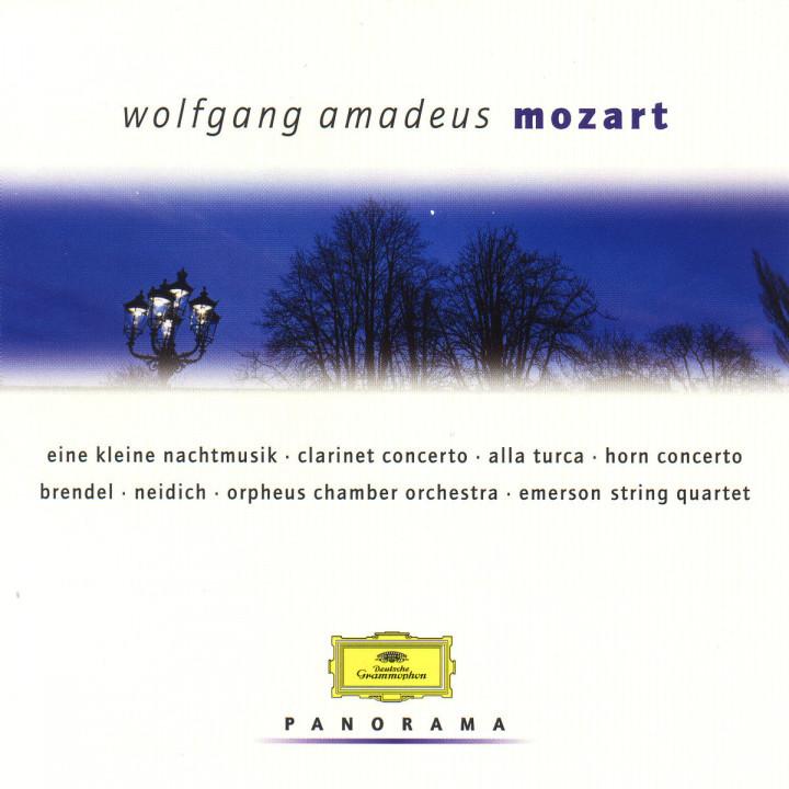Eine kleine Nachtmusik; Klarinettenkonzert; Alla Turca; Hornkonzert 0028946916322
