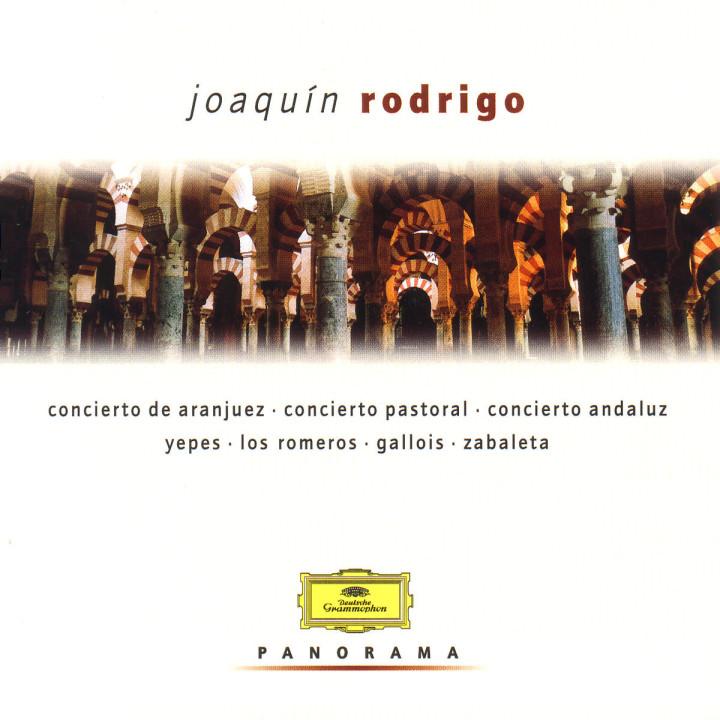 Concierto de Aranjuez; Concierto andaluz; Concierto pastoral 0028946919026