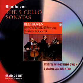 Sviatoslav Richter, Beethoven: The Cello Sonatas, 00028946467725
