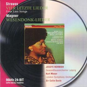 Richard Strauss, Strauss, R.: Vier letzte Lieder / Wagner: Wesendonk Lieder, 00028946474228