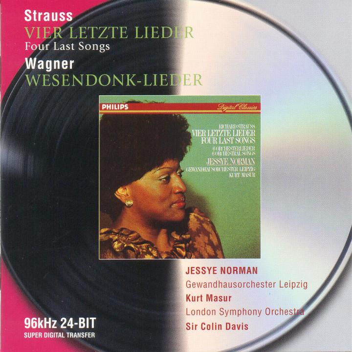 Strauss, R.: Vier letzte Lieder / Wagner: Wesendonk Lieder 0028946474220