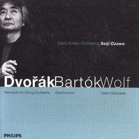 Antonín Dvorák, Serenade für Streicher; Italienische Serenade; Divertimento, 00028946259429