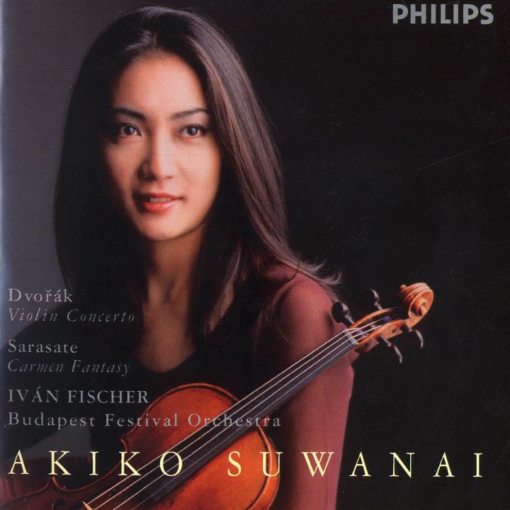 Dvorák: Violin Concerto / Sarasate: Carmen Fantasy 0028946453120