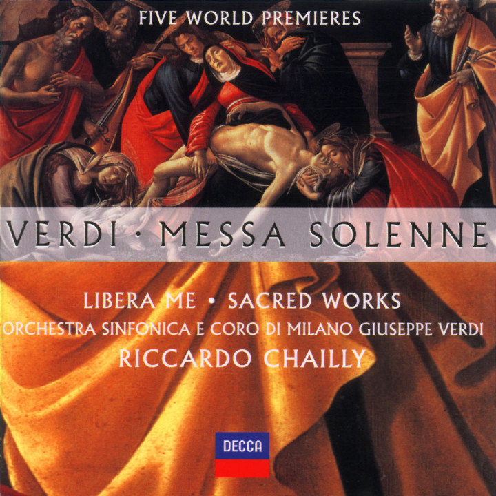 Verdi: Messa Solenne; Libera Me; Sacred Works (Five World Premieres) 0028946728026