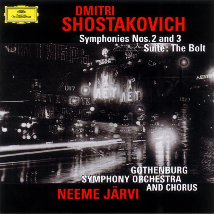 """Sinfonie Nr. 2 & 3; Suite aus dem Ballett """"Der Bolzen"""" 0028946952526"""