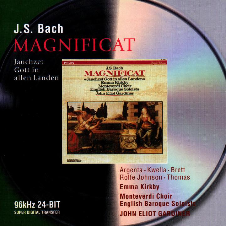 Bach, J.S.: Magnificat; Jauchzet Gott in allen Landen, Cantata BWV51 0028946467220
