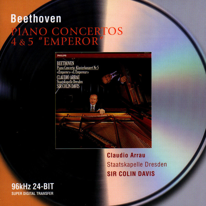 Beethoven: Piano Concertos Nos.4 & 5 0028946468128