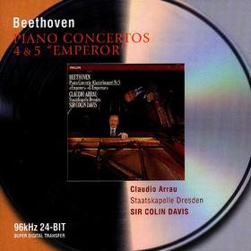 Claudio Arrau, Beethoven: Piano Concertos Nos.4 & 5, 00028946468128