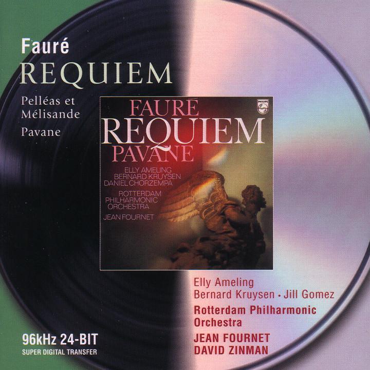 Fauré: Requiem; Pavane; Pelléas et Mélisande 0028946470123
