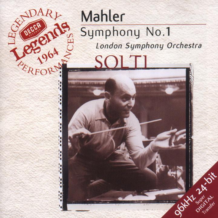 Mahler: Symphony No.1 0028945862226