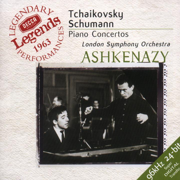 Tchaikovsky: Piano Concerto No.1 / Schumann: Piano Concerto 0028945862824