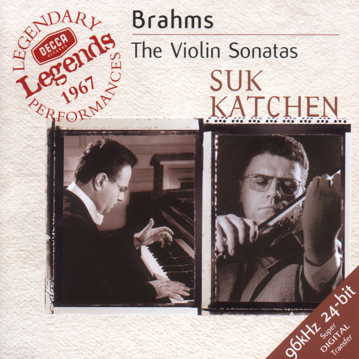 Brahms: The Violin Sonatas 0028946639328