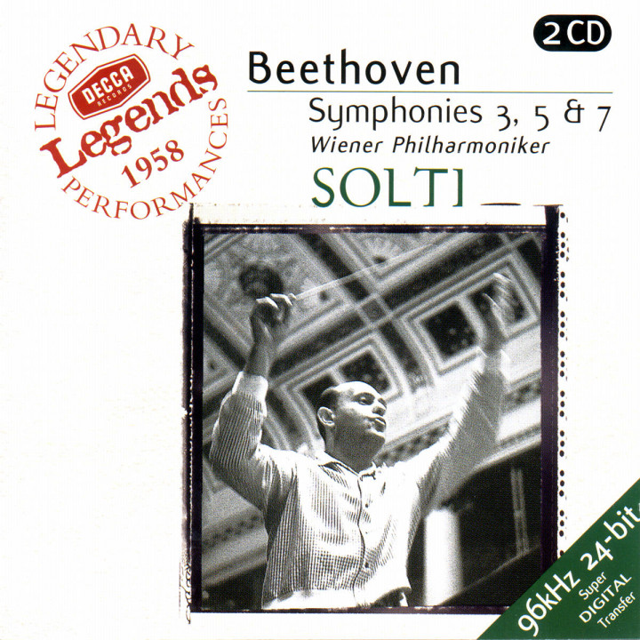 Beethoven: Symphonies Nos. 3,5 & 7 0028946767924