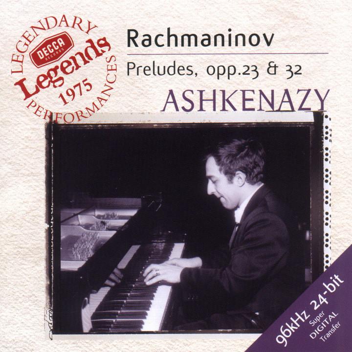Rachmaninov: Preludes, Op.3 Nos. 2, 23 & 32 0028946768523