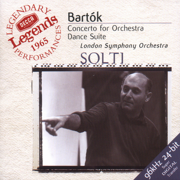Bartók: Concerto for Orchestra; Dance Suite; The Miraculous Mandarin 0028946768626
