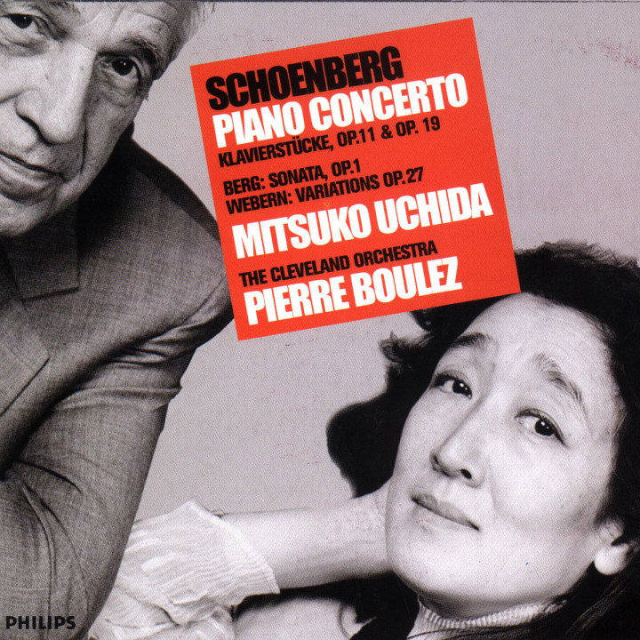 Schoenberg: Piano Concerto, Klavierstücke Opp.11 & 19 / Berg: Sonata Op.1 / Webern: Variations Op.2 0028946803325