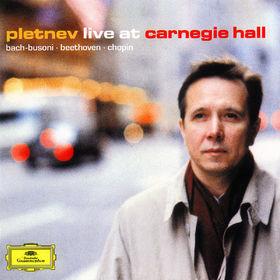 Johann Sebastian Bach, Live At Carnegie Hall, 00028947115724