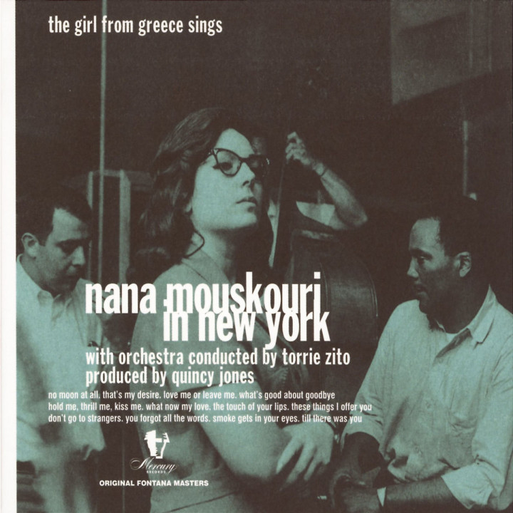 Nana Mouskouri In New York - The Girl From Greece Sings 0731454623229