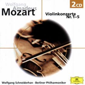 eloquence, MOZART: Violinkonzerte - Schneiderh: an, 00028947136521