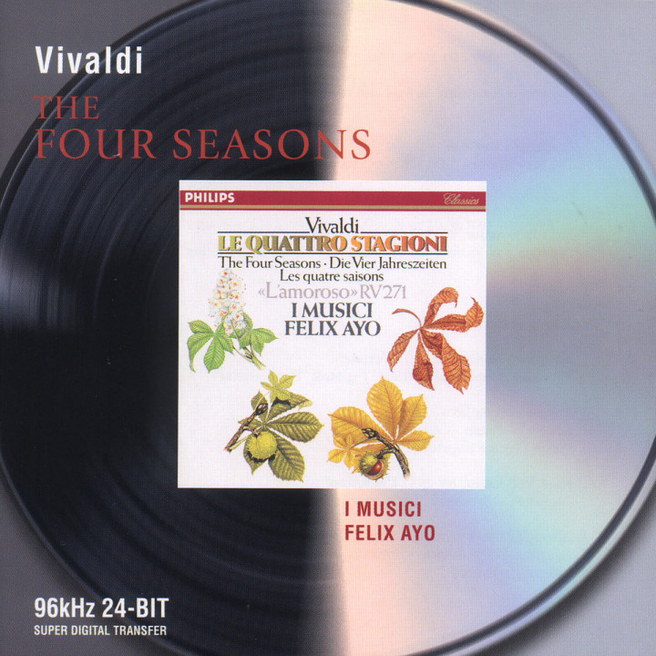 Vivaldi: The Four Seasons; Concerto in E, RV.271 0028946475025