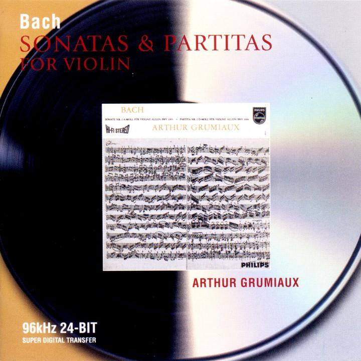 Bach, J.S.: Sonatas & Partitas for Violin 0028946467323