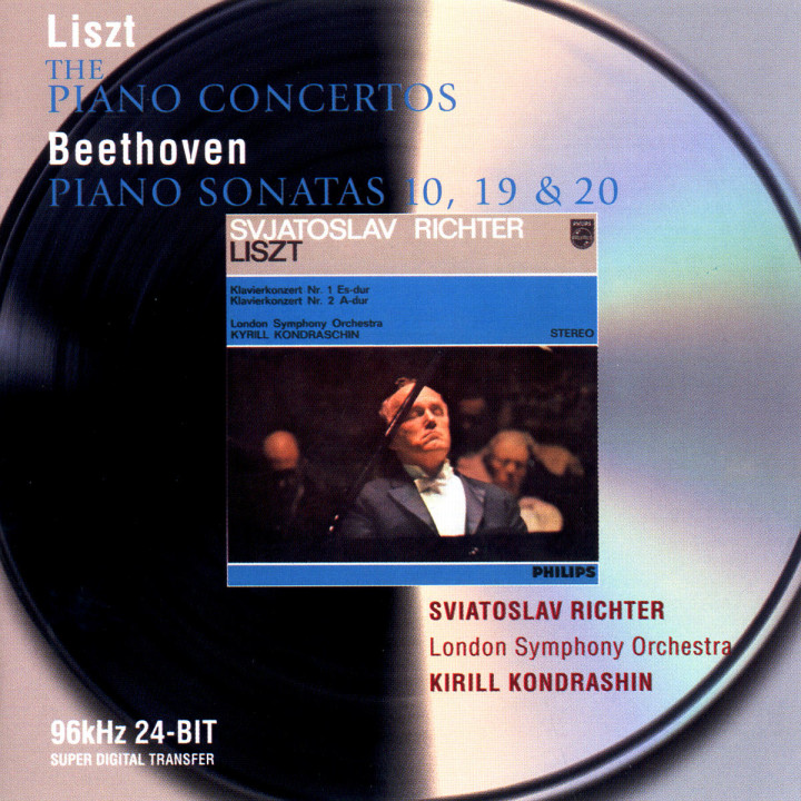 Liszt: The Piano Concertos / Beethoven: Piano Sonatas Nos.10,19, & 20 0028946471021