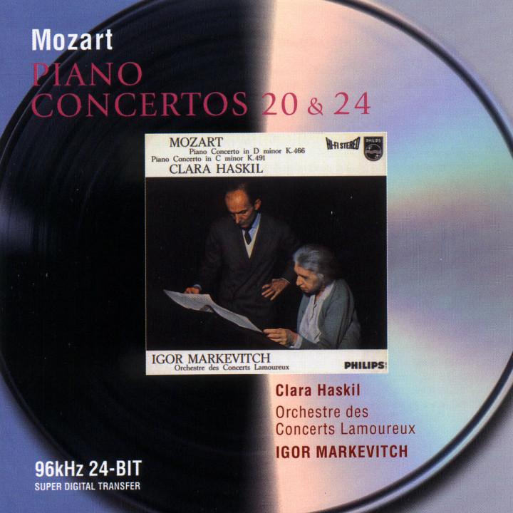 Mozart: Piano Concertos Nos.20 & 24 0028946471825