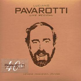 Luciano Pavarotti, Live Recital, 00028946635025